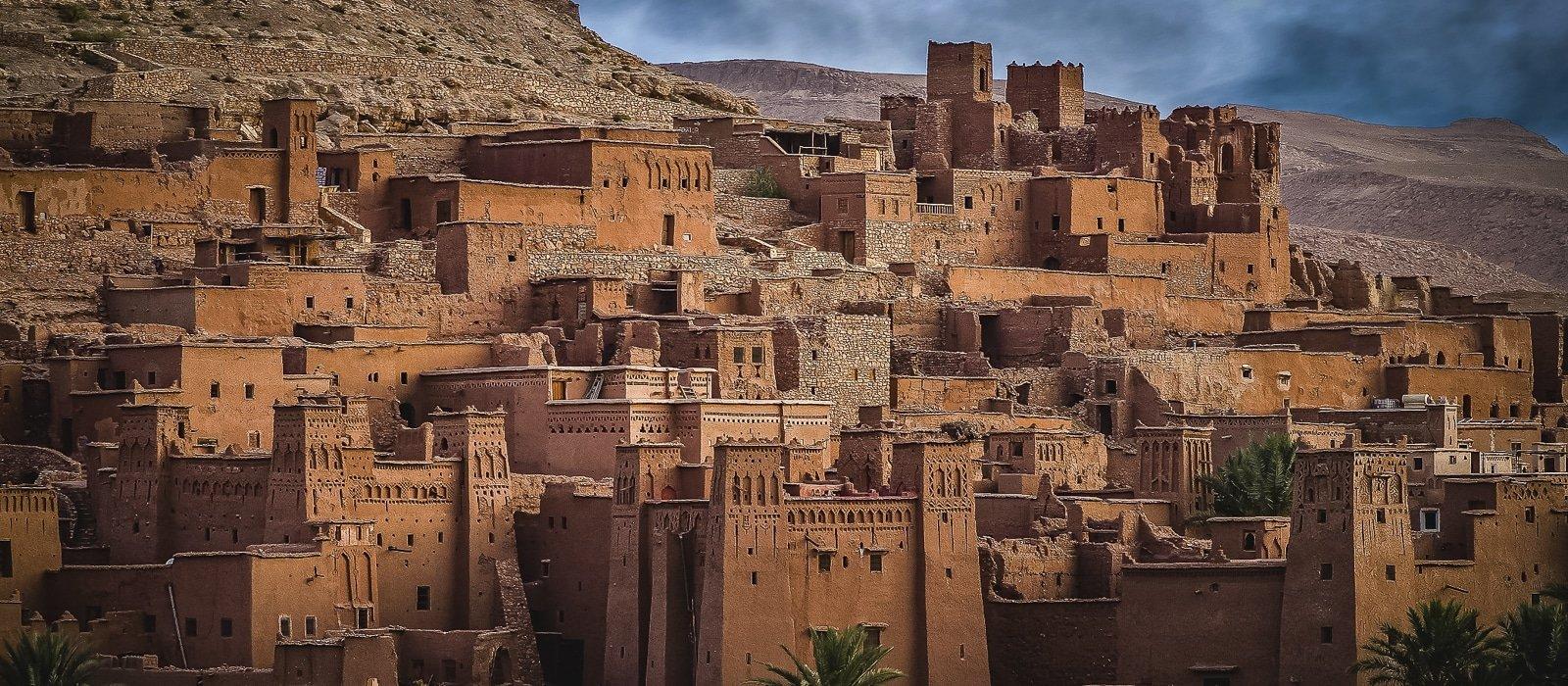 Voyage organisé en petit groupe - Kasbah de Ait-Ben-Haddou - Maroc - Agence de voyage Les Routes du Monde