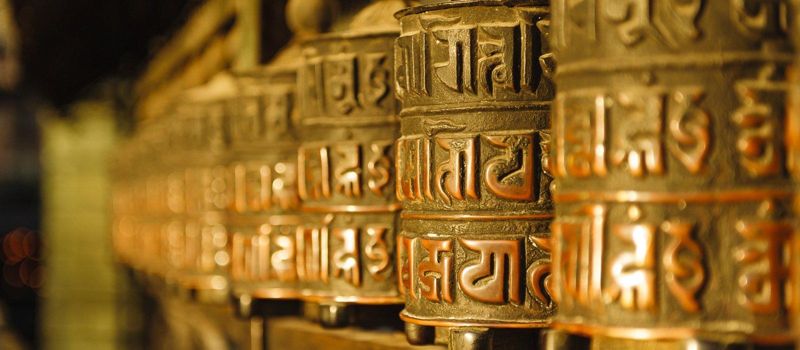 Voyage organisé en petit groupe - moulins prières - Népal - Agence de voyage Les Routes du Monde