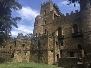 Voyage organisé en petit groupe - château de Gondar - Éthiopie - Agence de voyage Les Routes du Monde