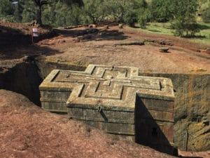 Voyage organisé en petit groupe - église de Lalibela - Éthiopie - Agence de voyage Les Routes du Monde