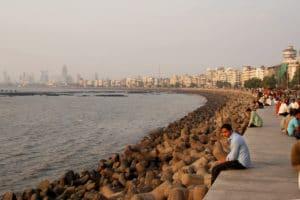 Voyage organisé en petit groupe - Bombay Marine Drive Mumbai - Inde - Agence de voyage Les Routes du Monde