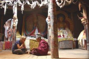 Voyage organisé sur mesure - monastère Ladakh - Inde du nord - Agence de voyage Les Routes du Monde