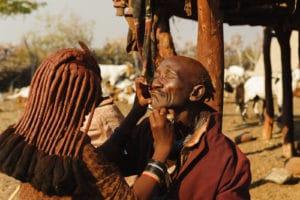 Himba, Epupa Falls, Namibie - les Routes du Monde