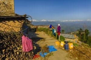 Voyage organisé en petit groupe - mini trek Nagarkot - Népal - Agence de voyage Les Routes du Monde