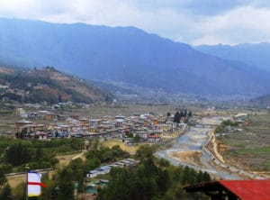 Voyage organisé en petit groupe - ville de Paro - Bhoutan - Agence de voyage Les Routes du Monde