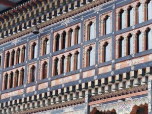 Voyage organisé en petit groupe - architecture dzong - Bhoutan - Agence de voyage Les Routes du Monde