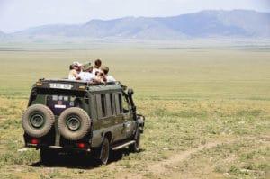 Voyage organisé en petit groupe - Jeep savane - Tanzanie - Agence de voyage Les Routes du Monde