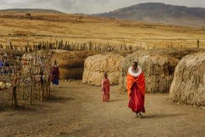 Voyage organisé en petit groupe - ethnie Masai - Tanzanie - Agence de voyage Les Routes du Monde