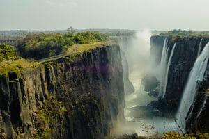 Chutes Victoria, Livingston, Zambie - les Routes du Monde