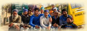 Jeunes Sikh à Amritsar, Inde