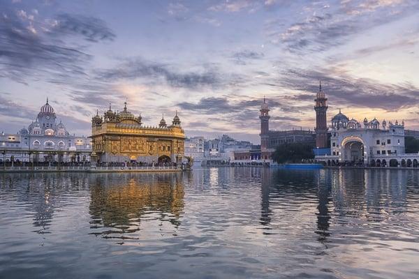 Voyage organisé sur mesure - Amritsar temple d'Or - Inde du nord - Agence de voyage Les Routes du Monde