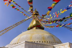 Voyage organisé en petit groupe - Bodnath - Népal - Agence de voyage Les Routes du Monde